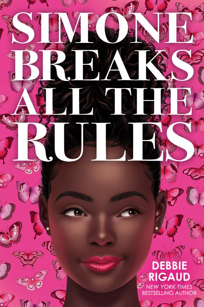 """Cover of """"Simone Breaks All the Rules"""" by Debbie Rigaud"""