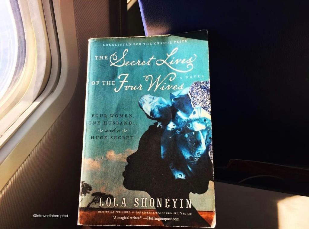 My 2020 Instagram post for The Secret Lives of Baba Segi's Wives by Lola Shoneyin
