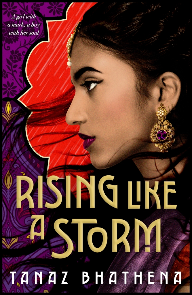 """Cover of """"Rising Like A Storm"""" by Tanaz Bhathena"""