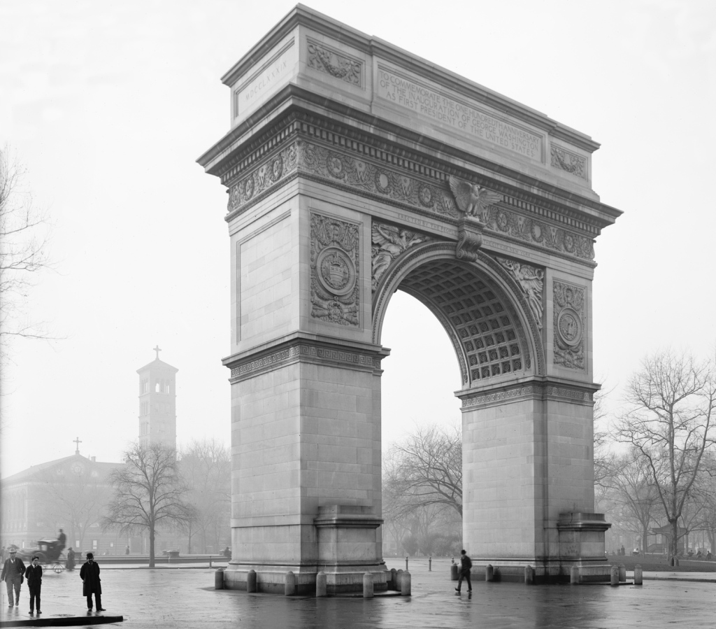 The Washington Arch in New York City was one of the series favorite sites to visit.