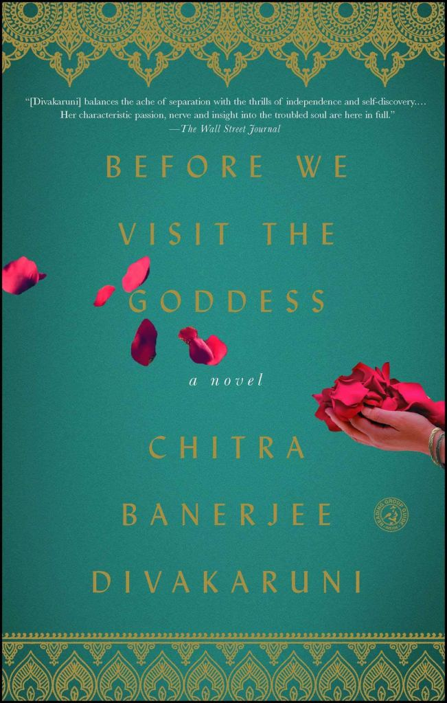 Book Cover for Before We Visit the Goddess by Chitra Banerjee Divakaruni